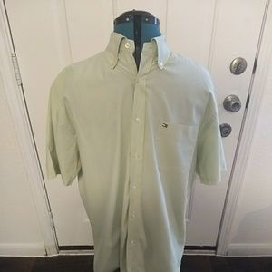 Vintage Tommy Hilfiger Mens Short Sleeve Shirt L